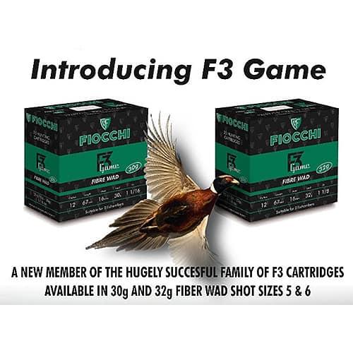 Fiocchi F3 Game 12 Bore