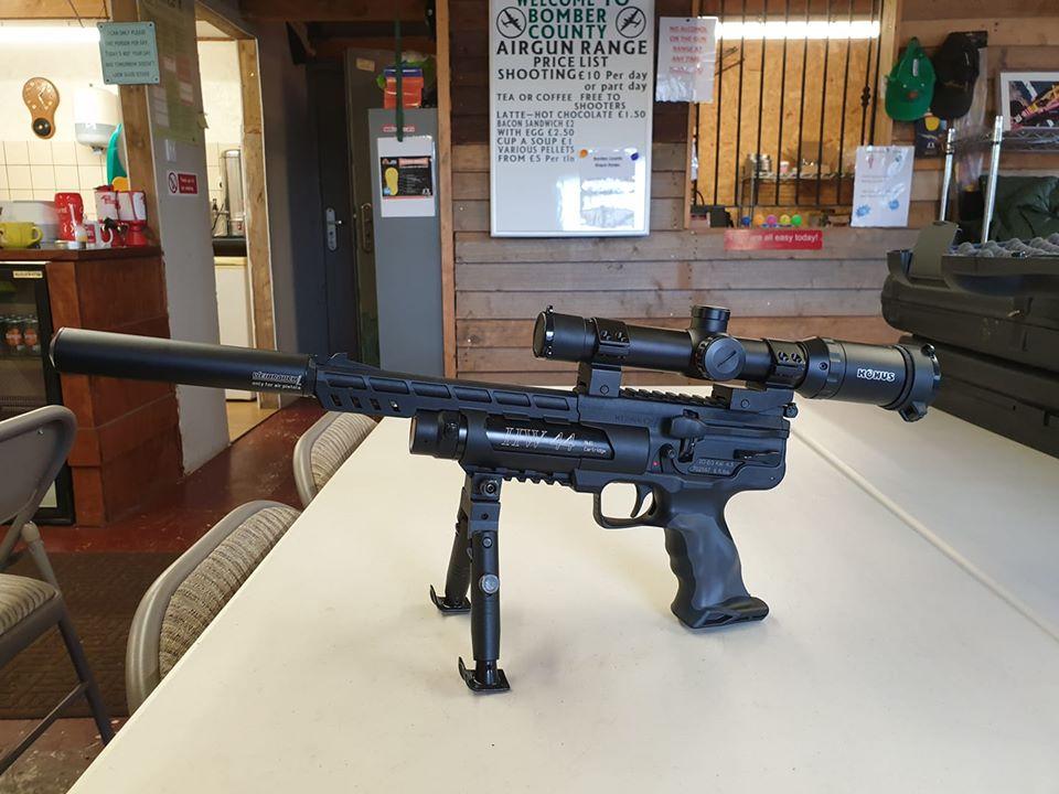 Bomber county air gun range